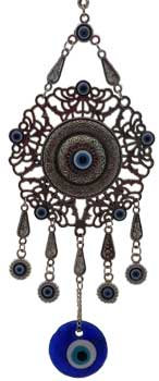 Mandala Evil Eye Wall Hanging