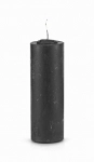 Black Pull Out Candle (Glass Holder Option)