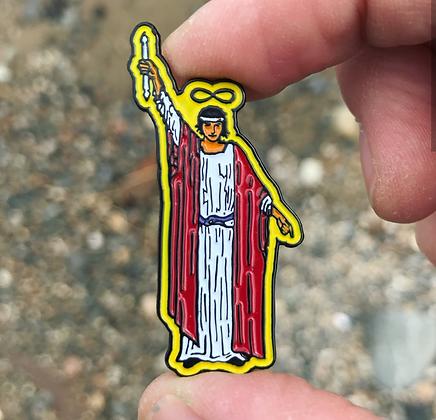 The Magician Tarot Card Enamel Pin
