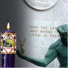 Spiritual Cleansing Candle