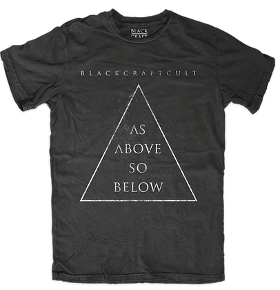 As Above So Below Mens/Unisex T-Shirt
