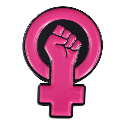 Feminist Fist Enamel Pin