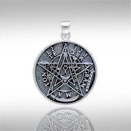 Tetragrammaton Pendant in Sterling Silver
