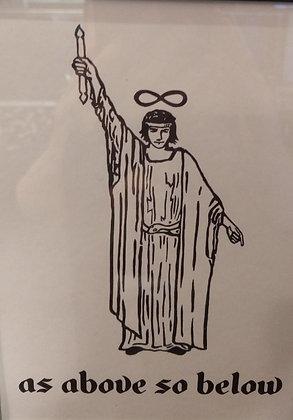 The Magician Tarot Card Print