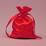 Red Satin Mojo Bag