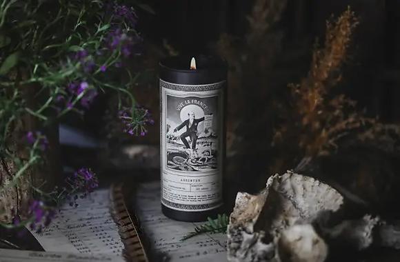 Absinthe Ritual Candle