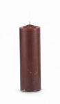 Brown Pull Out Candle (Glass Holder Option)
