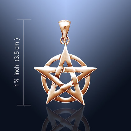 Copper Pentagram Pendant