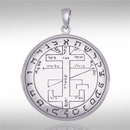 Seal of Solomon Pendant in Sterling Silver