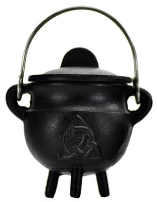 Cast Iron Triquatra Cauldron - Small