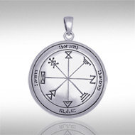 The First Pentacle of Jupiter Pendant in Sterling Silver