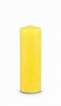Yellow Pull Out Candle (Glass Holder Option)