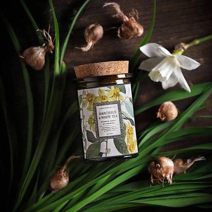 Botanica: Narcissus & White Tea Candle
