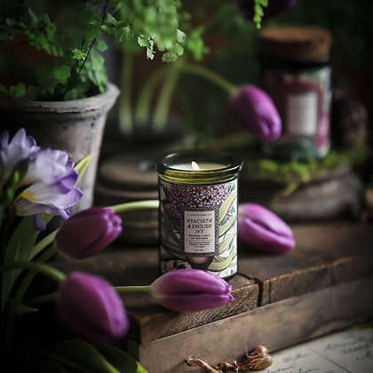 Botanica: Hyacinth & Ivy Candle