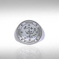 Archangel Michael Sigil Ring in Sterling Silver