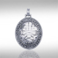 Secures the Help of Good Spirits Pendant in Sterling Silver