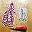 Thumbnail: Ace of Wands Tarot Card Enamel Pin