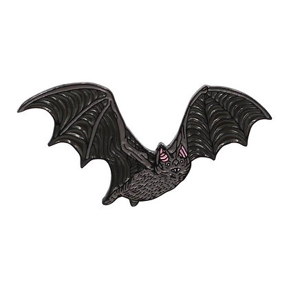 Glow in the Dark Bat Enamel Pin