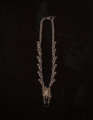 Khepri's Nail Chain Necklace