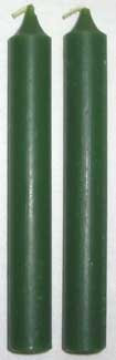 Green Chime Candle