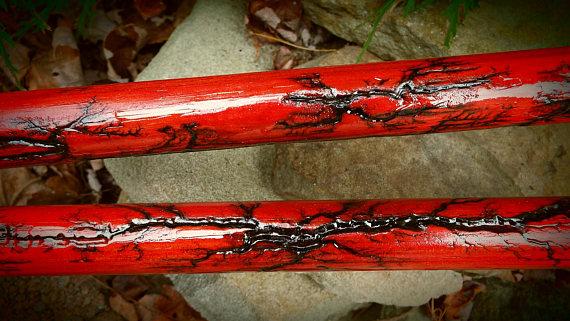Red Lightning Besom