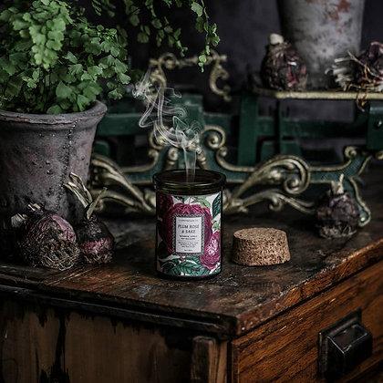 Botanica: Plum Rose & Sake Candle
