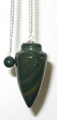 Smooth Bloodstone Pendulum