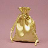 Gold Satin Mojo Bag