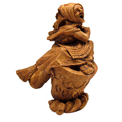 Baba Yaga Statue