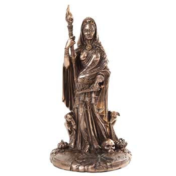 Hekate Statue in Bronze