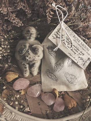 Rose Moon - Venus of Willendorf Soap