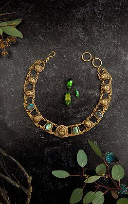 Sacred Scarab Collar