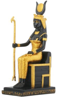Seated Isis Statue