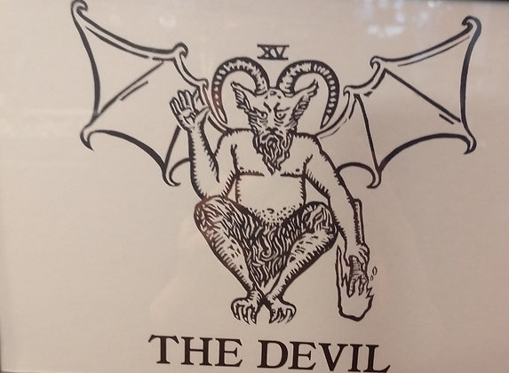 The Devil Tarot Card Print