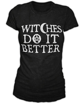 Witches Do It Better Womens T-Shirt