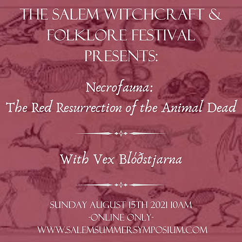 Necrofauna: The Red Resurrection of the Animal Dead