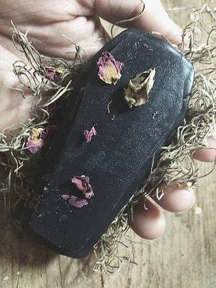 Lavender Coffin Detox Soap
