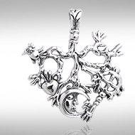 Cimaruta Pendant in Sterling Silver