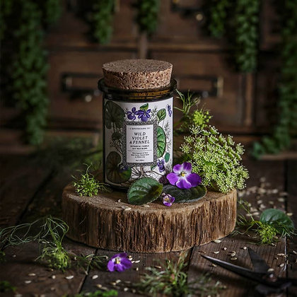 Botanica: Wild Violet & Fennel Candle