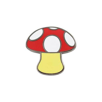 Mushroom Enamel Pin