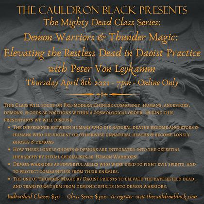 The Mighty Dead Class Series - Demon Warriors & Thunder Magic