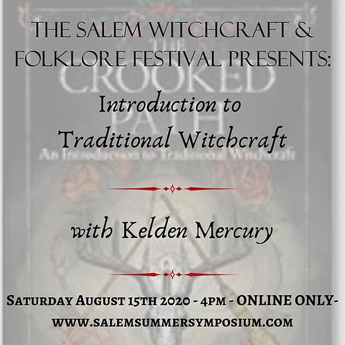 4PM - Introduction to Traditional Witchcraft