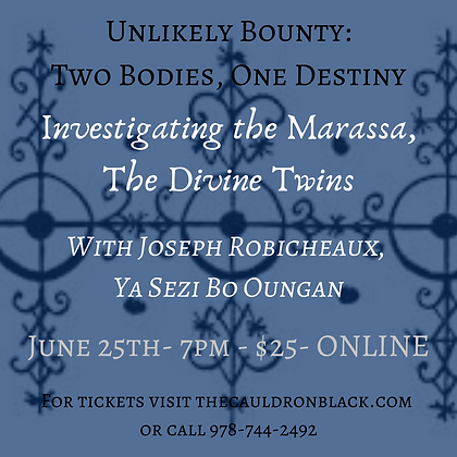 Unlikely Bounty: 2 Bodies, 1 Destiny-Investigating The Marassa-Divine Twins