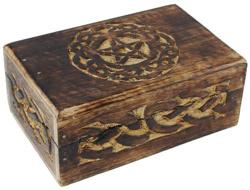 Knotwork Pentacle Box