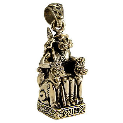 Odin Pendant in Bronze