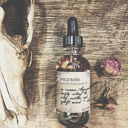 Wild Rose Beauty Ritual Body Oil