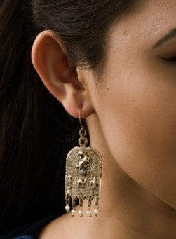 Revival Hamsa Earrings