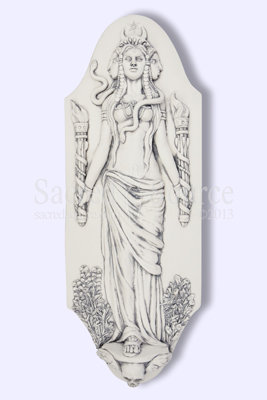 Hekate Wall Plaque