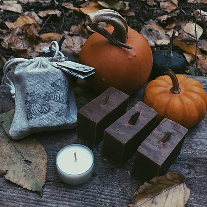 Pumpkin Patch Soap & Candle Gift Set