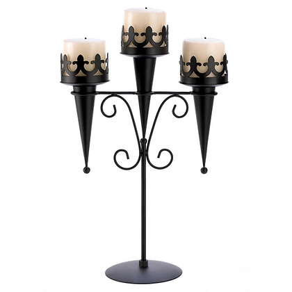 3-Pillar Candleabra